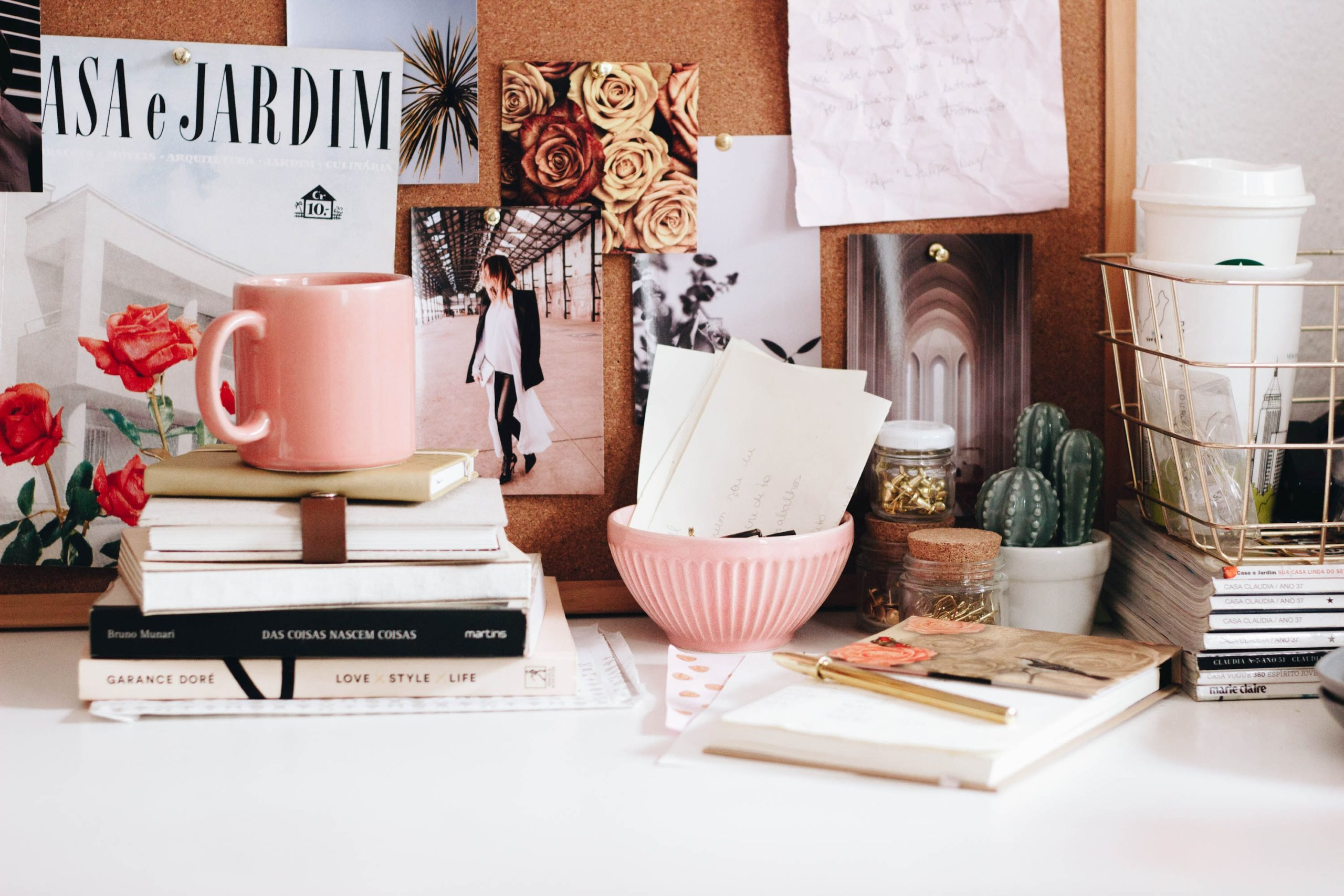 Clear Home Office Clutter (& reclaim your work space!)