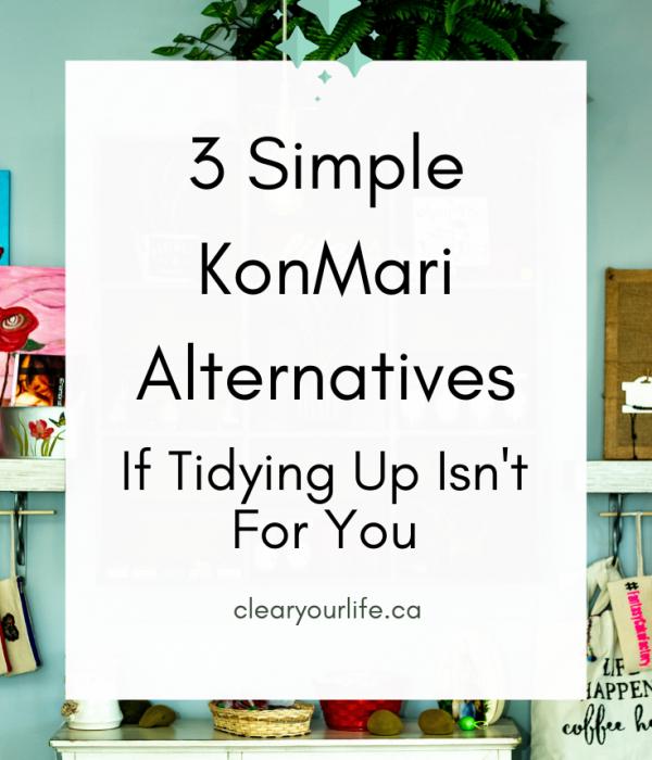 KonMari Alternatives Pinterest Image